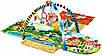 Развивающий коврик для ребенка в виде домика Lionelo Agnes, фото 6
