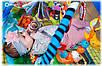 Развивающий коврик для ребенка в виде домика Lionelo Agnes, фото 8
