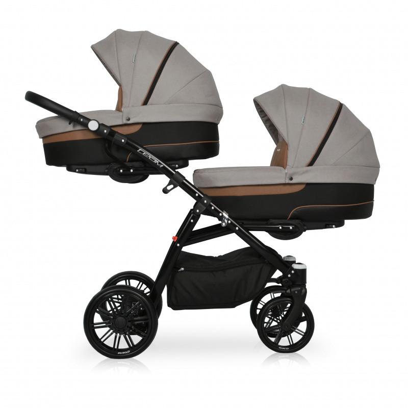 Купить Дитяча коляска для двійні Riko Team (Ріко Теам)