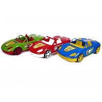 Машина 07-701-1 N Кабриолет с наклейками 12цветов (45 * 18 * 17см.) (Киндер Вей)