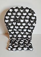 Вкладыш котики в шляпах и коронах