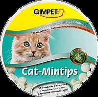 Витаминизированное лакомство с мятой Gimpet Cat-Mintips для кошек, 90 таб.