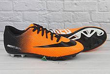 Бутси Nike Mercurial - Футбольне взуття репліка  , фото 3