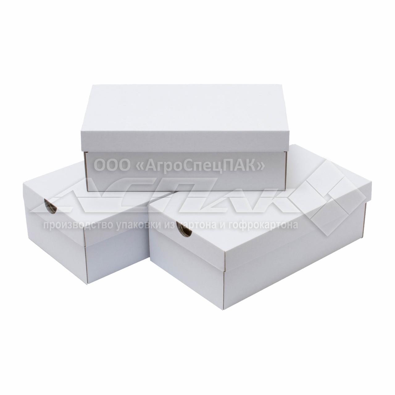 Коробки для обуви 320*180*110 белые