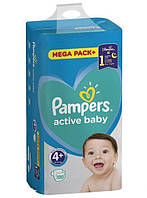 ПОДГУЗНИКИ PAMPERS ACTIVE BABY MAXI PLUS  4+ (9-16 КГ) MEGA 120 ШТ.