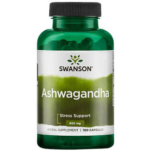 Swanson Premium Ashwagandha (індійський женьшень) 450 mg 100 кап