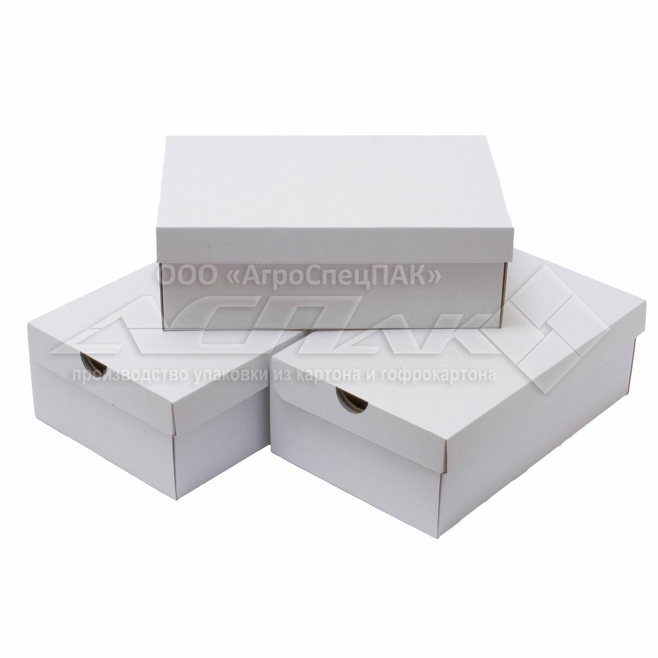 Коробка для обуви. Коробки для обуви 320*200*110 белые