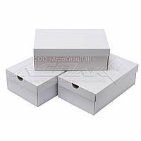 Коробка для обуви. Коробки для обуви 320*200*110 белые, фото 1