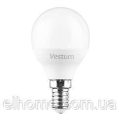 Лампа LED Vestum G45 6W 3000K 220V E14