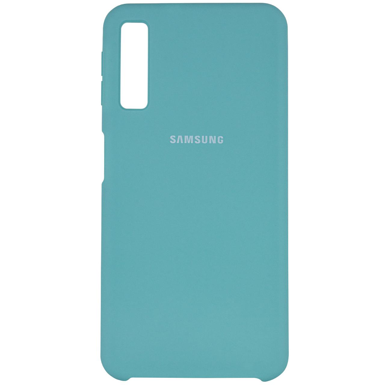 Чехол Silicone case для Samsung A750 Galaxy A7 (2018)