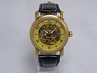 Мужские механические наручные часы скелетоны Vacheron Constantin, Gold, фото 1
