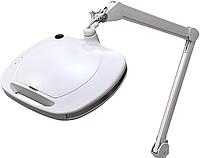 Лампа лупа настольная для косметолога с регулировкой яркости холодного света 6030 LED 3D,12W
