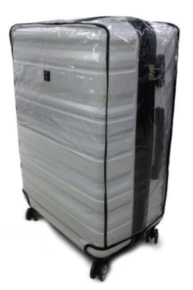 Чехол для чемодана Coverbag CvV150-04 63-75 см, прозрачный
