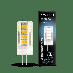 LED лампа Gauss G4 AC185-265V 4W 4100K керамика