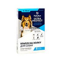 Капли Palladium №4 Палладиум Ультра Протект для собак 4-10 кг 1 пипетка 1 мл