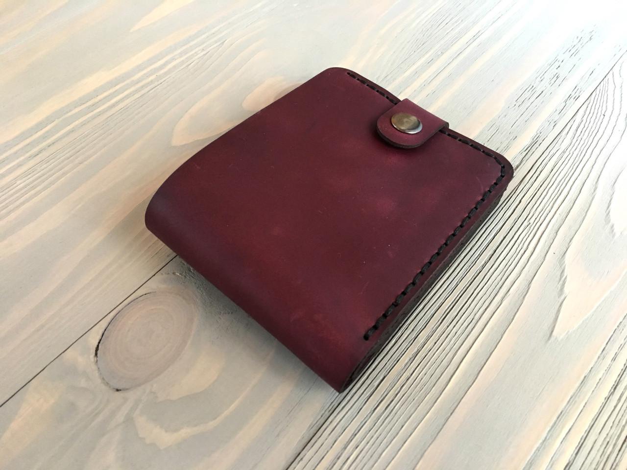 Шкіряний жіночий гаманець Goose™ Montis марсала з монетницею