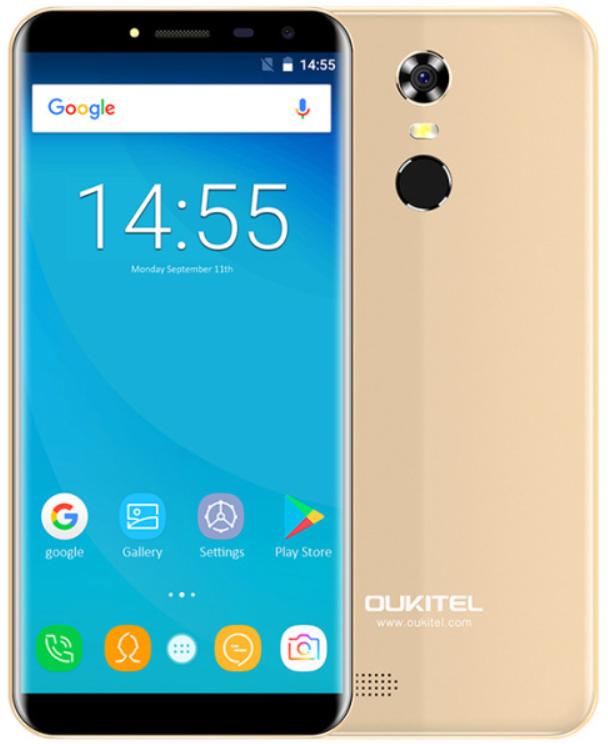 OUKITEL C8 gold