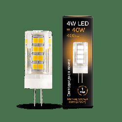 LED лампа Gauss G4 AC185-265V 4W 2700K керамика