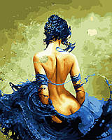 Картина за номерами Дівчина з татуюванням gx27703 40х50 см