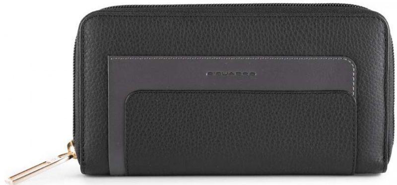 Кожаный кошелек Piquadro FEELS PD1515S97R_N, черный