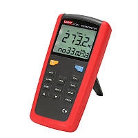 Термометр UNI-T UT321 (-250~1372℃) с термопарой К-типа и совместимостью с термопарами J,T и E типов, ПО