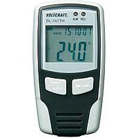 Регистратор температуры и влажности VOLTCRAFT DL-141 (-40°C~70°C; 0-100%) 32000 точек. Германия