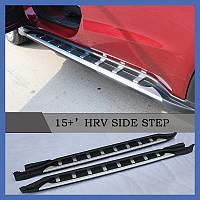 Honda HR-V Боковые пороги тип-1