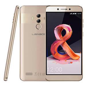 Смартфон Leagoo T8S Gold 4/32Gb FullHD 5.5 FaceID 3080мАч 13MP+чехол, фото 2