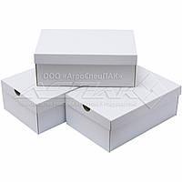 Коробки для обуви 340*220*125 белые, фото 1