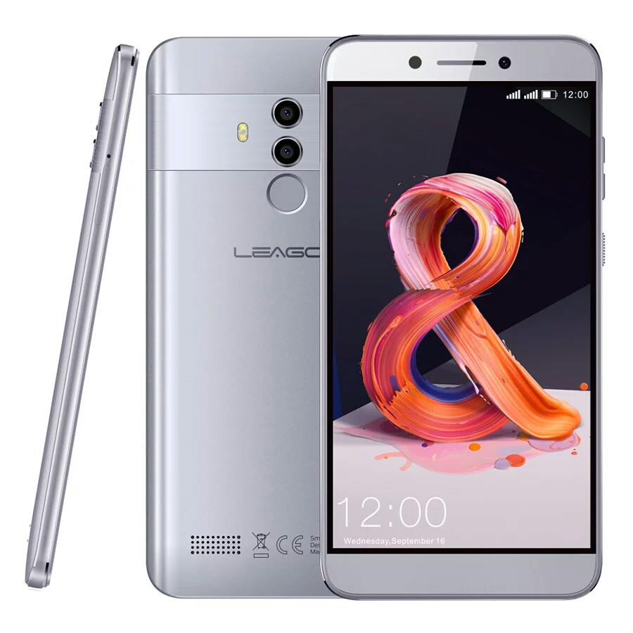 Смартфон Leagoo T8S Silver 4/32Gb FullHD 5.5 FaceID 3080мАч 13MP+чехол