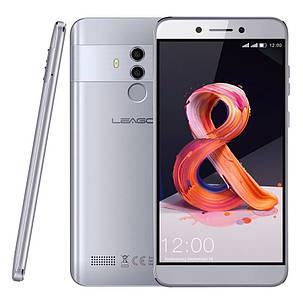 Смартфон Leagoo T8S Silver 4/32Gb FullHD 5.5 FaceID 3080мАч 13MP+чехол, фото 2
