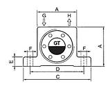 Пневматический турбинный вибратор  GT 4  KLSX, фото 2