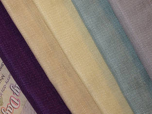 Ткань равномерного плетения Permin, (100% лен, Дания)