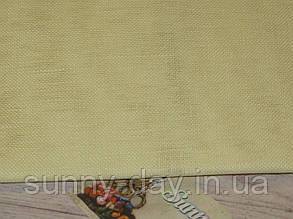 Тканина рівномірного плетіння Permin 076/305 Touch of Yellow/Дотик жовтого, 28 каунт