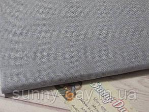 Тканина рівномірного плетіння Permin 076/306 Touch of Grey/Дотик сірого, 28 каунт
