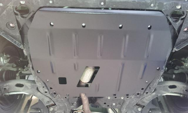 Защита РКПП на Ауди Q7 4L (Audi Q7 4L) 2005-2015 г (металлическая)