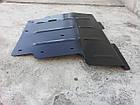 Защита двигателя и радиатора на БМВ 5 Е39 (BMW 5 E39) 1996-2003 г (металлическая/3.0 и меньше), фото 2