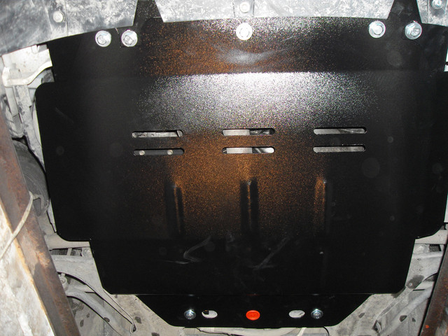 Защита АКПП на БМВ 6 Е63/Е64 (BMW 6 E63/E64) 2003-2010 г (металлическая/3.0)
