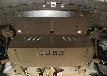 Защита КПП и Двигателя БИД Ф0 (BYD F0) 2008 - ... г (металлическая/увеличенная)