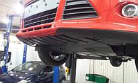 Защита КПП и Двигателя Шевроле Авео Т300 (Chevrolet Aveo T300) 2012 - ... г (металлическая/американец)