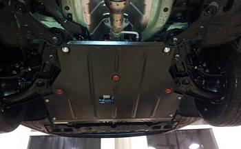 Защита КПП и Двигателя Ситроен С-Кроссер (Citroen C-Crosser) 2007-2013 г (металлическая)