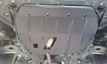 Защита дифференциала на Дачия Дастер (Dacia Duster) 2010 - ... г (металлическая)