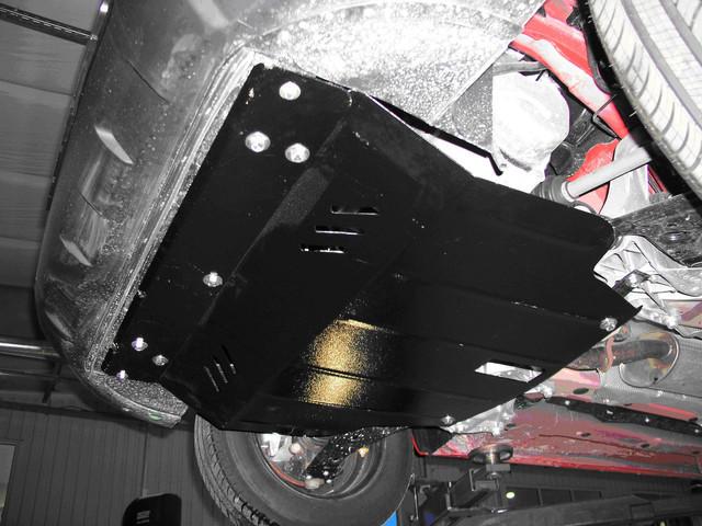 Защита КПП и Двигателя Дайхатсу Сирион (Daihatsu Sirion) 2004-2011 г (металлическая)