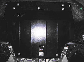 Защита КПП и Двигателя Додж Авенджер 2 (Dodge Avenger II) 2007-2014 г (металлическая)