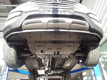 Защита под радиатор, двигателя и КПП на Додж Дуранго 2 (Dodge Durango II) 2004-2009 г (металлическая)