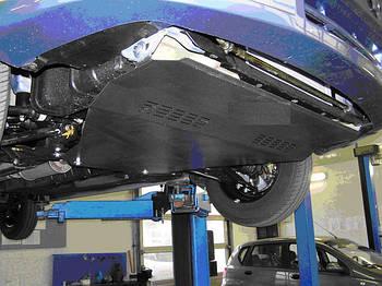 Защита КПП и Двигателя ФАВ Вейжи V5 (FAW Weizhi V5) 2012 - ...  г (металлическая)