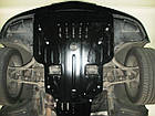 Защита под радиатор, двигателя и КПП на Хонда Пилот 2 (Honda Pilot II) 2011-2015 г (металлическая), фото 3