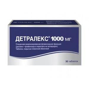 ДЕТРАЛЕКС ТАБ.П О 1000МГ #30