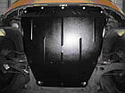 Защита мотора Хендай Н1 (Hyundai H1) 1997-2007 г (металлическая/4WD), фото 5