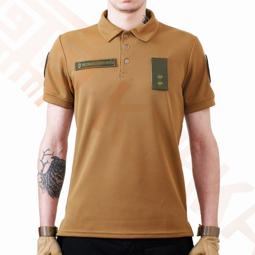 Поло футболка Coolpas Койот